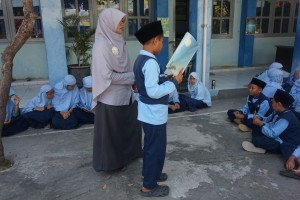 Departemen Languages mengadakan Reading Aloud