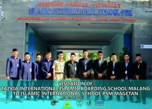 Rombongan dari SMP Tazkia IIBS Malang