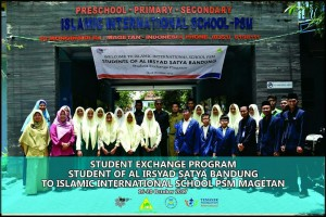 Rombongan dari Al-Irsyad Bandung