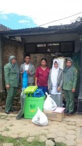 Bantuan Rumah Roboh di Kecamatan Plaosan, Kabupaten Magetan